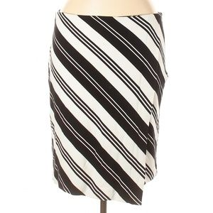 Chico's Black and White Skirt